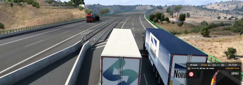 Euro Truck Simulator 2 – Iberia – Faro – Lisabon