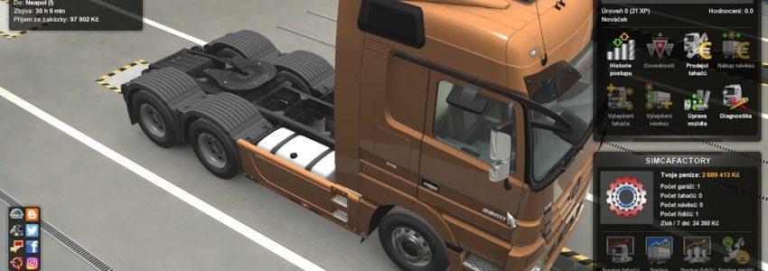 Euro Truck Simulator 2: Iberia – Sassari – Neapol
