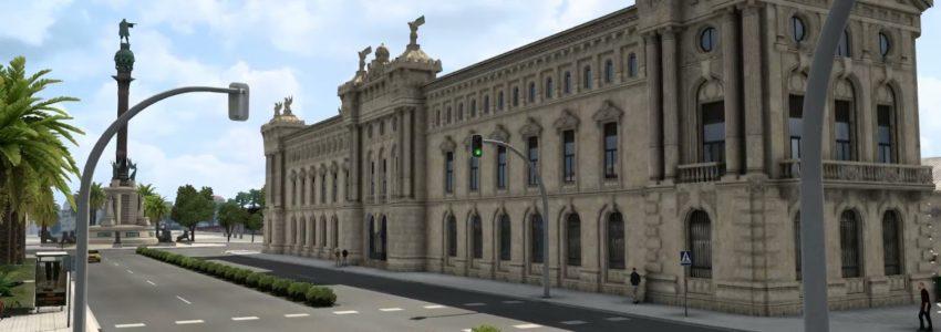 Euro Truck Simulator 2: Iberia – Barcelona – Ajaccio