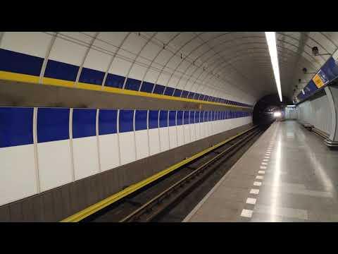 Metro Kolbenova – Příjezd od Českomoravské