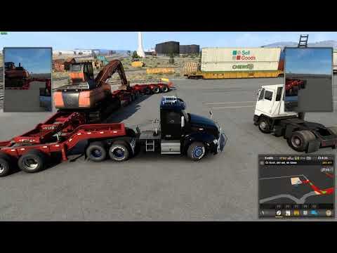 American Truck Simulator – Wyoming – Cheyenne – Rock Springs