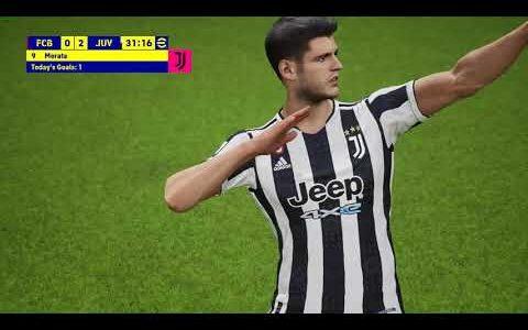 eFootball – FC Barcelona – Juventus FC