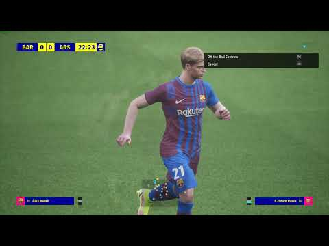 eFootball- FC Barcelona – Arsenal FC